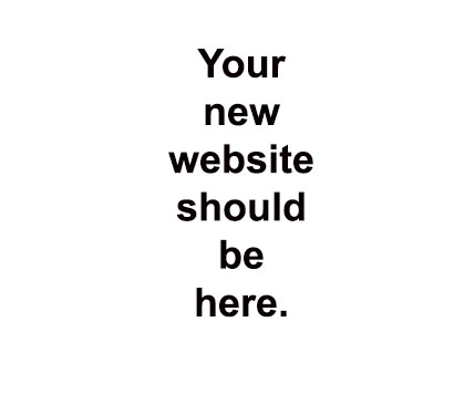 your new website should be here